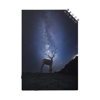 〜宮城の風景〜白鹿と夏の天の川 Notes