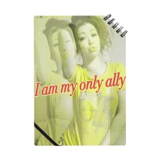 自分の味方は自分ノート Notebook