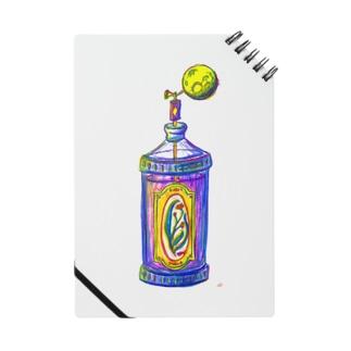 月の香水瓶 ノート