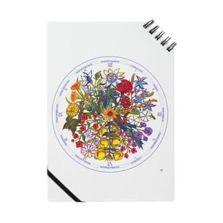 リンネの花時計 ノート