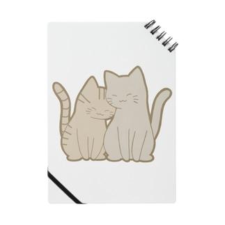仲良し猫 キジトラ&灰 Notes