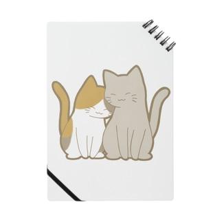 仲良し猫 三毛&灰 Notes