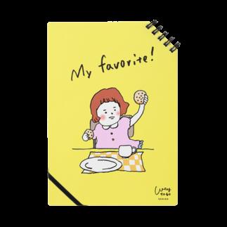 waytogodesignのmy favorite!-yellow- Notes