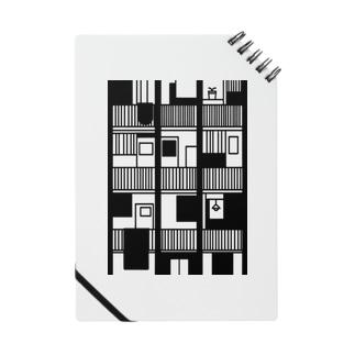 黒色の集合住宅 Notes