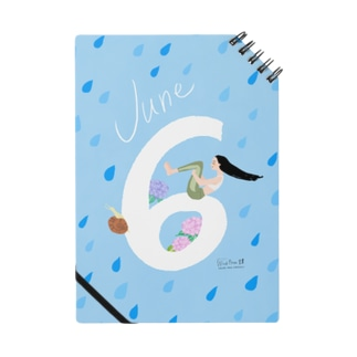 6月生まれの湿気が苦手なヨギーさん / Hello June! Notes