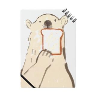 食パンとしろくま ノート