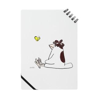 マツゴロウさんとチョウチョのノート Notes