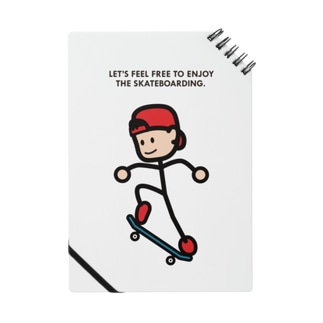 """String skater """"Ollie2"""" ノート"""