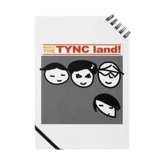 THE TYNC land ノート