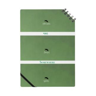 The Birds(green) Notebook