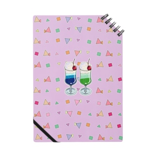 ツインソーダ(ピンク) Notes
