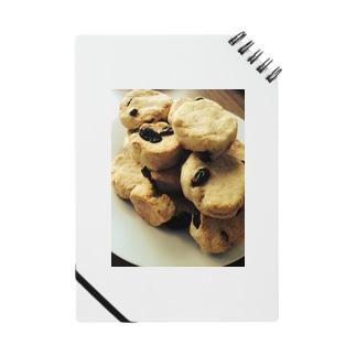 レーズン入りクッキー ノート