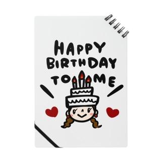 万枚ちゃんのHAPPY BIRTHDAY TO ME Notes