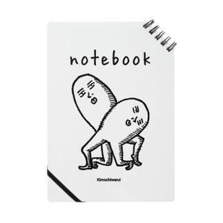 キモチワルイノート Notes