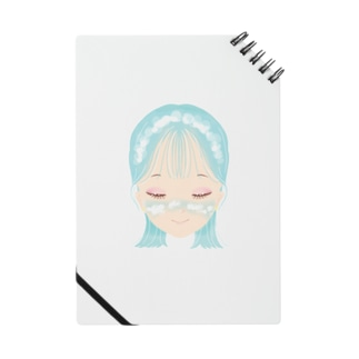 雲メイク sky blue Notes