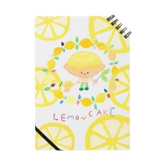 レモンケーキくんグッズ ノート