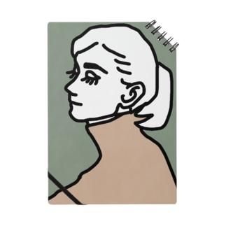 女の人 横顔 Notes