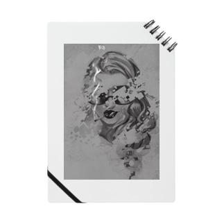 サングラスの女性 2 Notes
