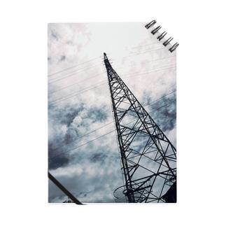 雲と電波塔...♪*゚ Notes