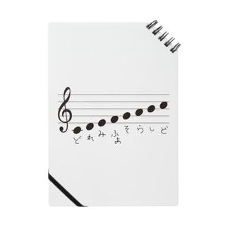 音階どれみふぁそらしど(こどもの手書き) Notes