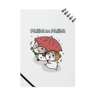 スパイシー千鶴のパンダinぱんだ&クマinくま(相合傘) Notes