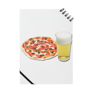 ピザとビール Notes