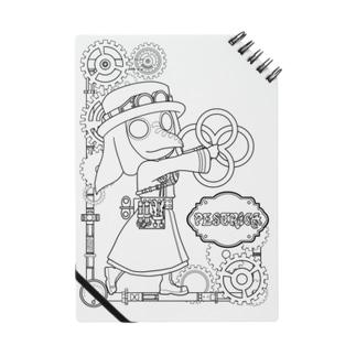 ペストリカさんぬりえノート Notebook