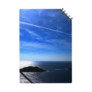 M.F.Photoの夏の空と飛行機雲ノート