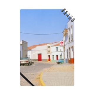 スペイン:村の昼下がり Spain: view of a village Notes