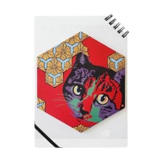 六角割花菱【猫】 Notes