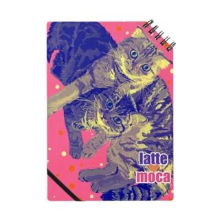 猫のラテモカグッズ Notes
