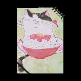 ちなこ☆動物にも愛をの餅猫シダー 鉄火丼 Notes