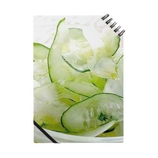夏っぽいね!胡瓜とセロリのサラダだよ! Notes
