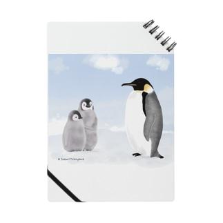 リアルなコウテイペンギン Notes