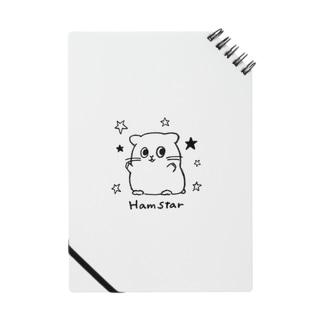 ハムとスターでハムスター⭐︎ Notes