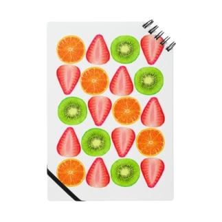 キウイとオレンジといちご Notes