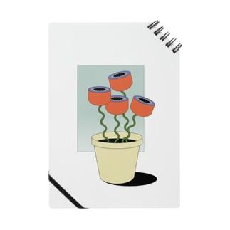 窓辺のお花 Notes