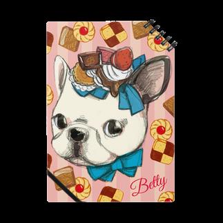 レモネードプールのベティちゃん背景クッキー Notes