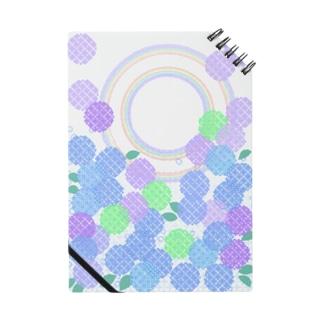 紫陽花と二重の虹 Notes