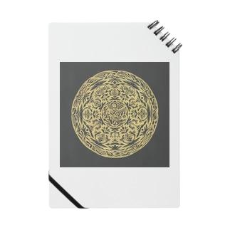 Maru ⭕ Mandala 繁栄(黒) Notes