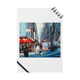 パリの街角 Notes