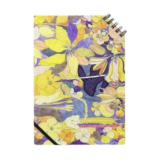 「花畑」黒うさぎ Notes