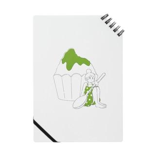 イグアナ大佐のかき氷ちゃん(メロン) Notes