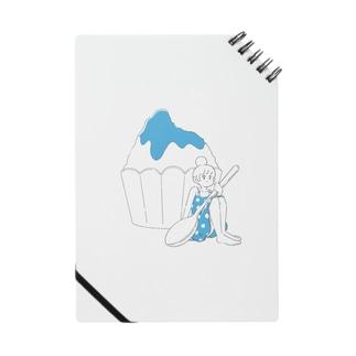 かき氷ちゃん(ブルーハワイ) Notes