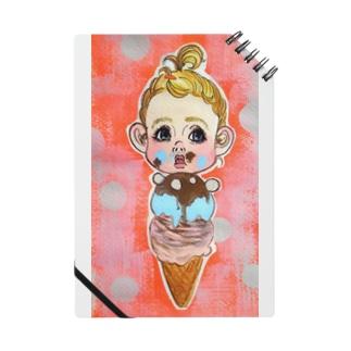 Icecream doll dotts Notes