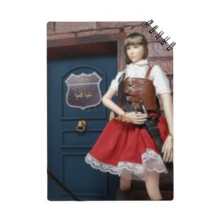 人形写真:冒険者ギルド「銀の船」の前に立つ美少女冒険者 Doll picture: Pretty adventurer at the guild Notes