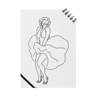 マスク姿のマリリン・モンロー Notes