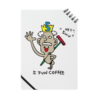 5 FUN COFFEE GOD Notes