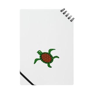 まだまだ若い海龜くん Notes