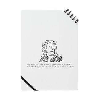 バッハの名言 Notebook